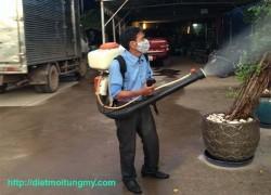 diệt muỗi tại quận cẩm lệ